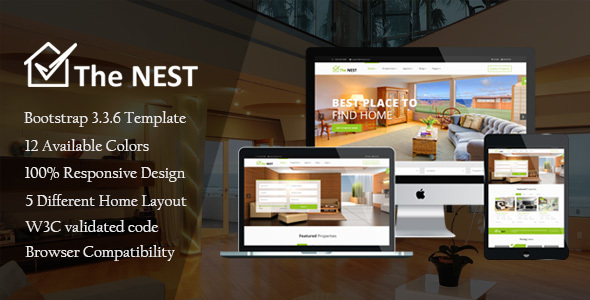 Nest - Real Estate HTML Template