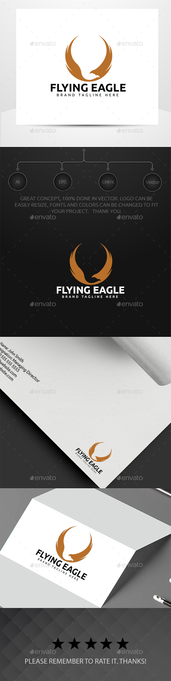 GraphicRiver Eagle Logo 20393169