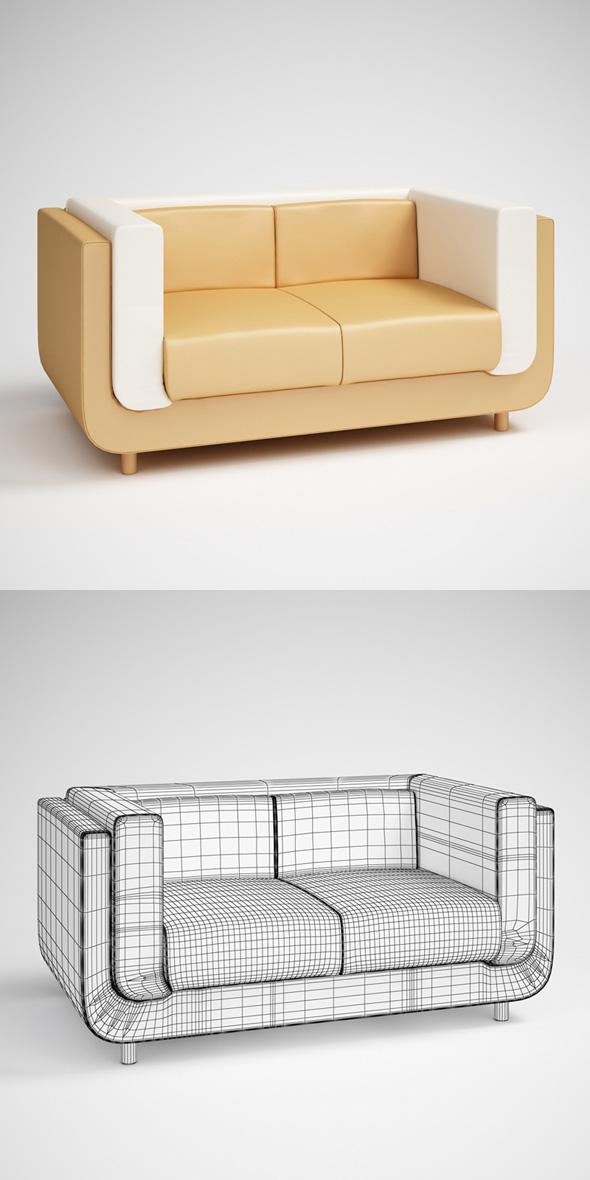 CGAxis Sofa 08 - 3DOcean Item for Sale