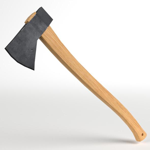 Axe Hatchet - 3DOcean Item for Sale