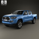 Toyota Tacoma Double Cab Short Bed 2014 - 3DOcean Item for Sale