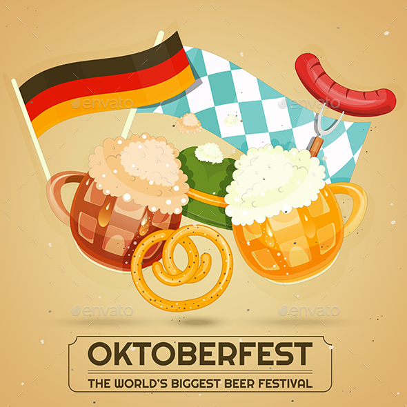 Oktoberfest Beer Festival - Food Objects