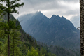 Inspiring Mountains Landscape, cloudy day in summer Tatras