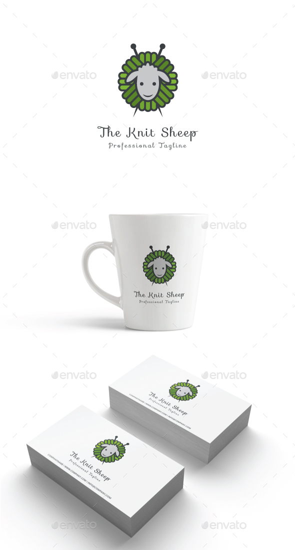 GraphicRiver The Knit Sheep Logo 20393963