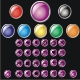 Set of  color buttons - GraphicRiver Item for Sale