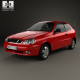 Daewoo Lanos 3-door 1997 - 3DOcean Item for Sale