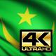 Mauritania Flag 4K
