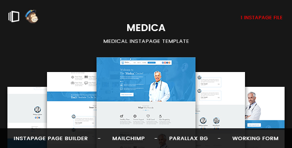 Medica - Instapage Medical Landing Page - Instapage Marketing