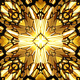 Gold-Black Kaleidoscope - VideoHive Item for Sale