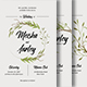 Leaves Invitation - GraphicRiver Item for Sale