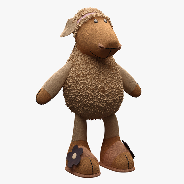 3DOcean Toy Sheep Nici NOT RIGGED 20394775