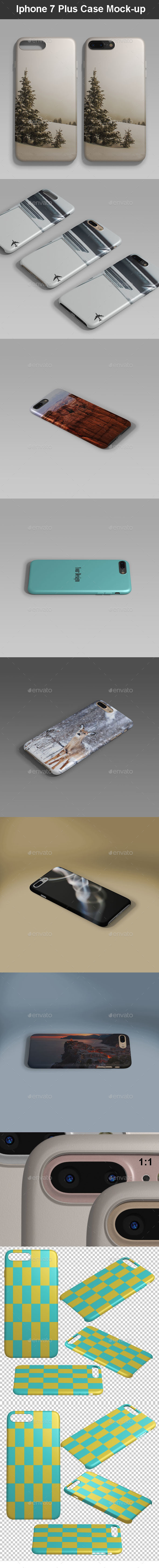 Phone 7 Plus Case Mock-up - Mobile Displays