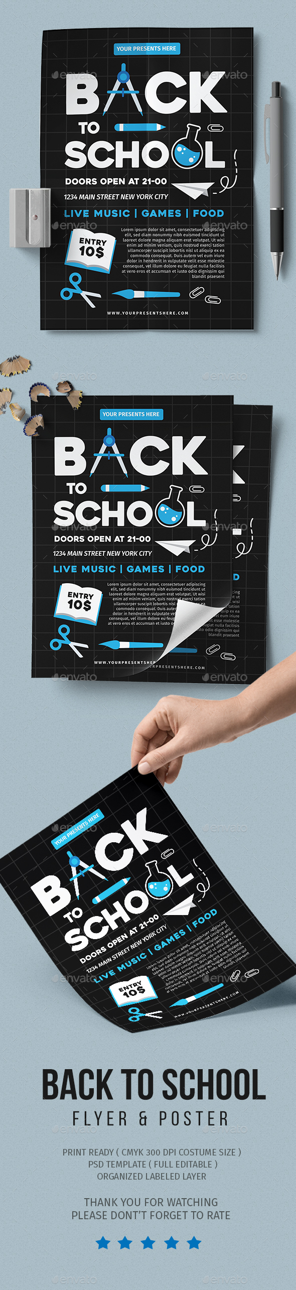 Back To School Vol 3 - Events Flyers