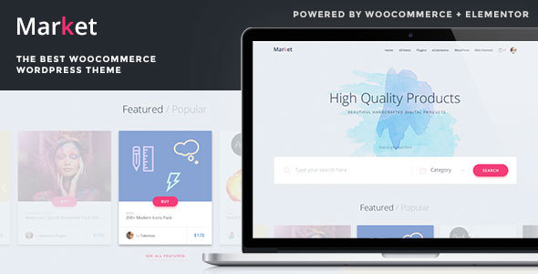 Market - Online Store WooCommerce WordPress Theme