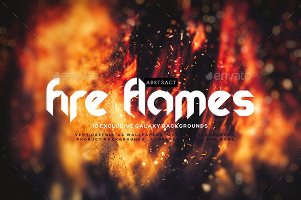 GraphicRiver Abstract Fire Flames Backgrounds 20394985