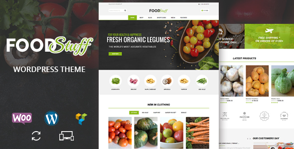 Food Stuff – Multipurpose WooCommerce Theme