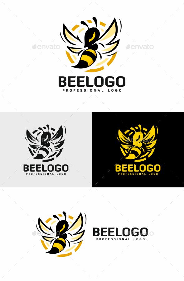 Bee - Animals Logo Templates