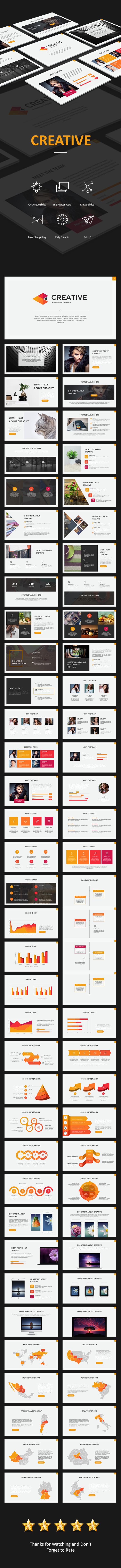 GraphicRiver Creative Powerpoint 20395446