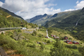 Flam railway landscape. Norwegian tourism highlight. Norway landmark. Horizontal - PhotoDune Item for Sale