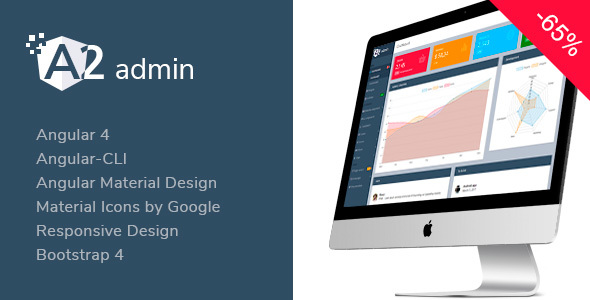 A2 Admin - Angular 4 Material Design Admin Template