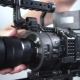 The Operator Works with the Zoom on the Camcorder - VideoHive Item for Sale
