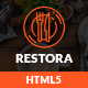 Restora - Responsive HTML Template Nulled