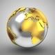 World Map Turns Into a Globe