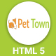 PetTown - Blog & Shop Responsive HTML5 Template