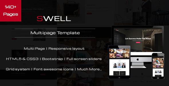 Swell - Creative Multipurpose HTML Template