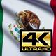 Mexico Flag 4K