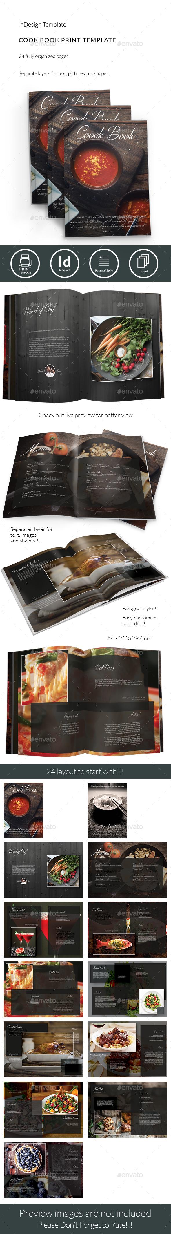 CookBook/Restaurant Menu Template