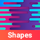 Flat Shapes Backgrounds