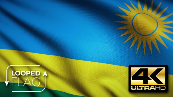 Rwanda Flag K By Bourjart VideoHive - Rwanda flag