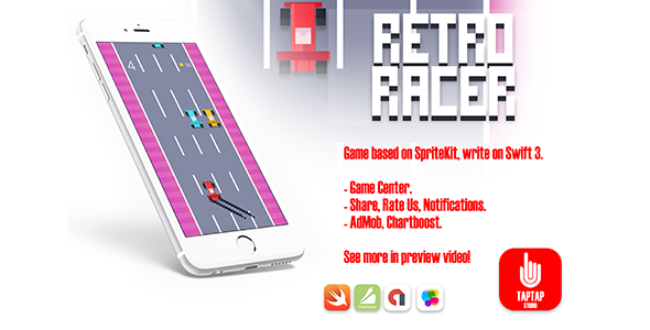 Retro Racer - CodeCanyon Item for Sale