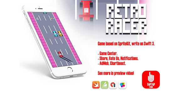 CodeCanyon Retro Racer 20396913