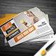 Fitness Post Card Design