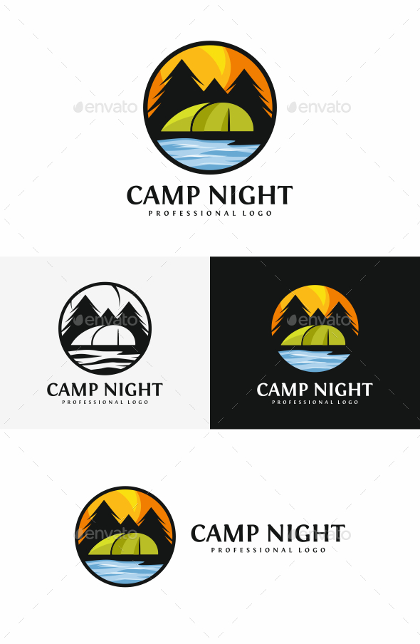 GraphicRiver Camping Logo 20396769