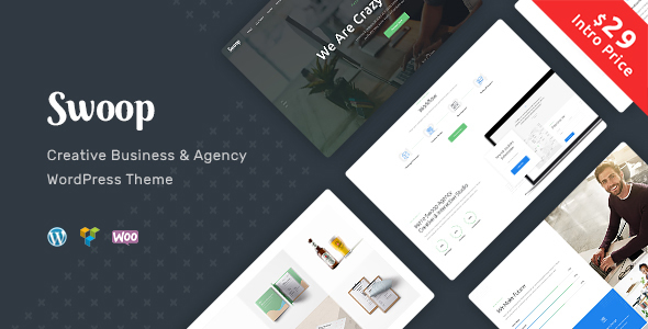 ThemeForest Swoop Web Studio & Creative Agency 20397403