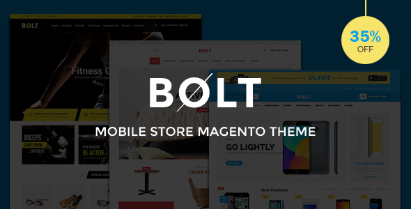 Bolt - Mobile Store Responsive Magento Theme - Shopping Magento