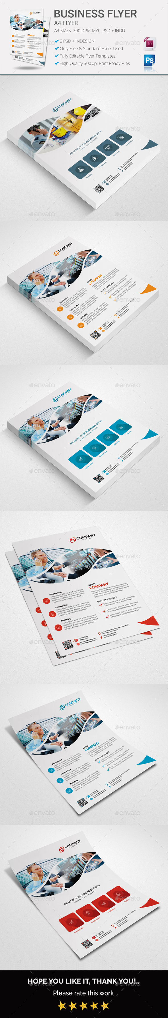 Business Flyer Vol 01 - Flyers Print Templates