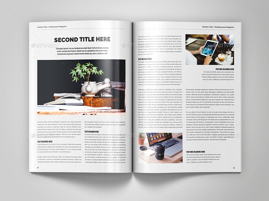 Magazine template food magazine layout by themzy free for Adobe indesign magazine templates free download