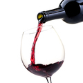 Pouring red wine into a wineglass - PhotoDune Item for Sale