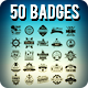 50 Summer & Surf Badges - GraphicRiver Item for Sale