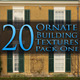20 Ornate Building Facade Textures - Pack One - GraphicRiver Item for Sale