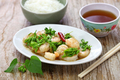 stir-fried Tonkin jasmin flowers and shrimp - PhotoDune Item for Sale