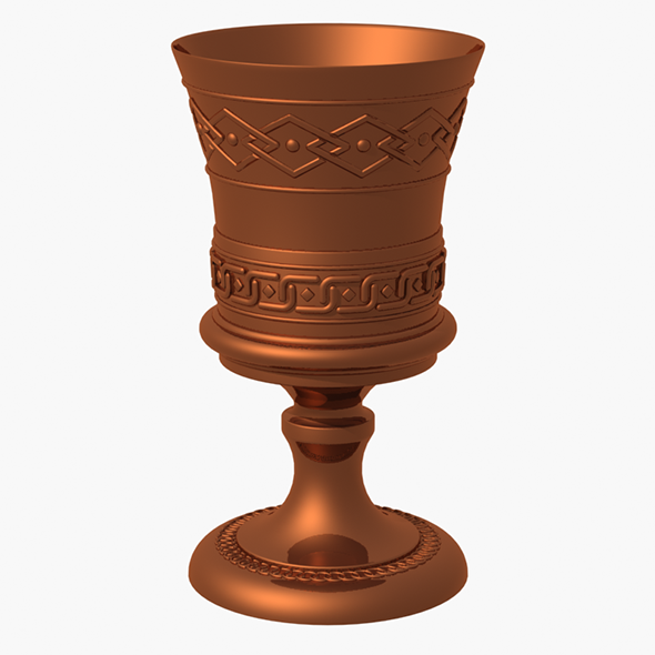 Metal Goblet - 3DOcean Item for Sale