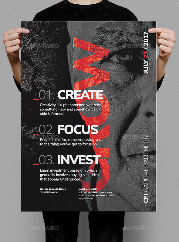 Grow Business Poster / Flyer - Corporate Flyers