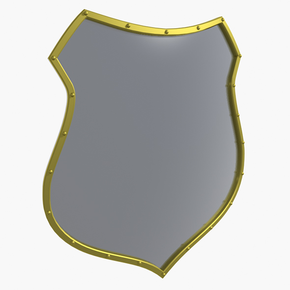 3DOcean Medieval Shield 20398559