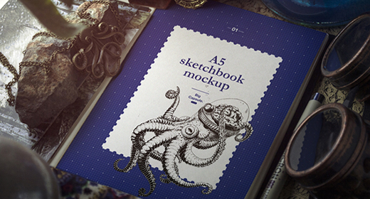 Sketchbooks Mockups