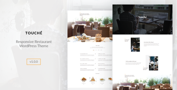Touche - Cafe and Restaurant WordPress Theme
